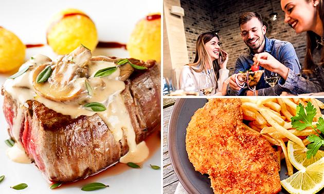 3-gangen keuzediner bij Restaurant & Café am Quellensee