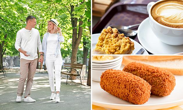 Wandelarrangement + koffie/thee + gebak + snack