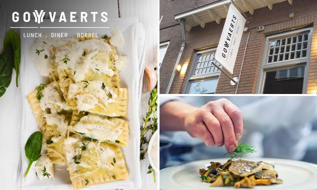 Thuisbezorgd of afhalen: 3-gangen keuzediner van Goyvaerts