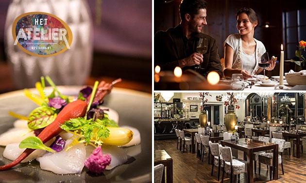 Dinerbon te besteden bij Restaurant Het Atelier