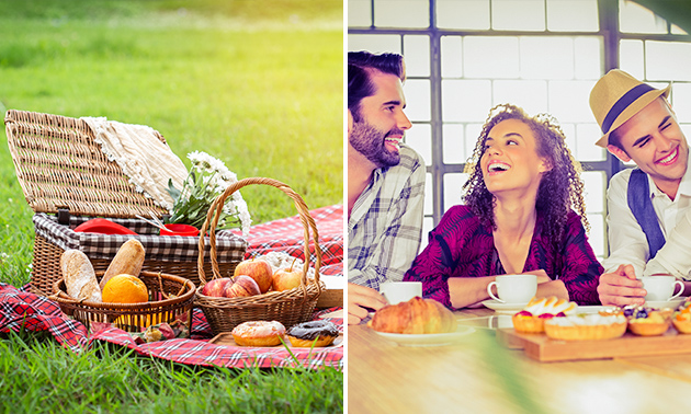 Afhalen: luxe picknick bij Het Kreitenhuys