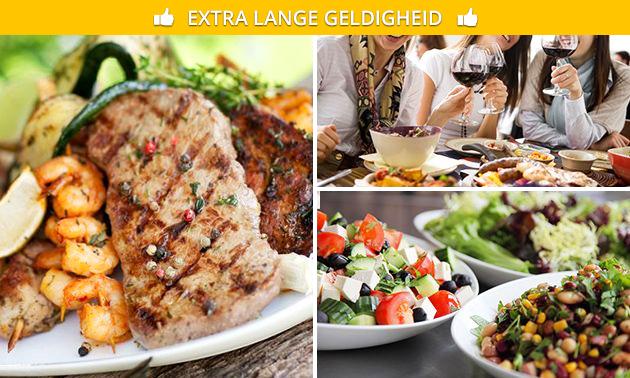 Mixed grill + bijgerechten bij Restaurant Jasmijn