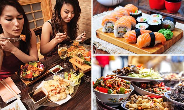 All-You-Can-Eat sushi + Indonesische gerechtjes