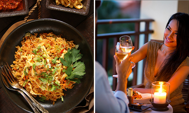 Afhalen: Indonesische rijsttafel bij Merlina