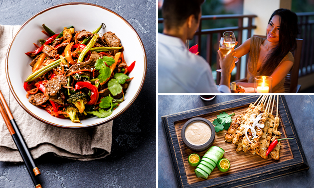 Afhalen: Aziatisch shared dining-diner van Merlina
