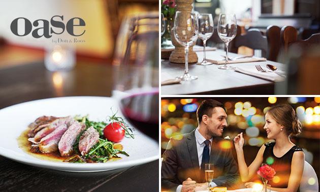 Hoofdgerecht naar keuze bij Restaurant Oase