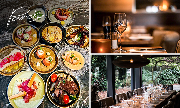 Thuisbezorgd of afhalen: shared dining (11 gerechtjes!) bij Parck