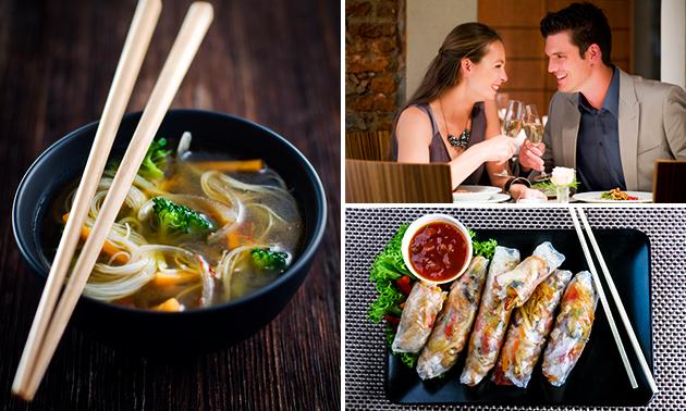 Afhalen: Vietnamese rijsttafel bij Saigon