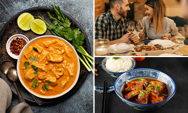 Afhalen: Vietnamese rijsttafel bij Restaurant Saigon
