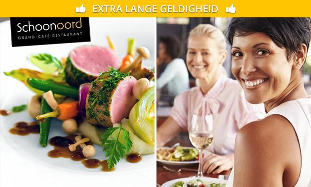 3-gangendiner bij Restaurant Schoonoord