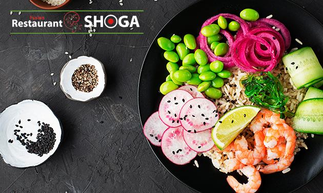 Thuisbezorgd of afhalen: sushibox of pokébowl van Shoga