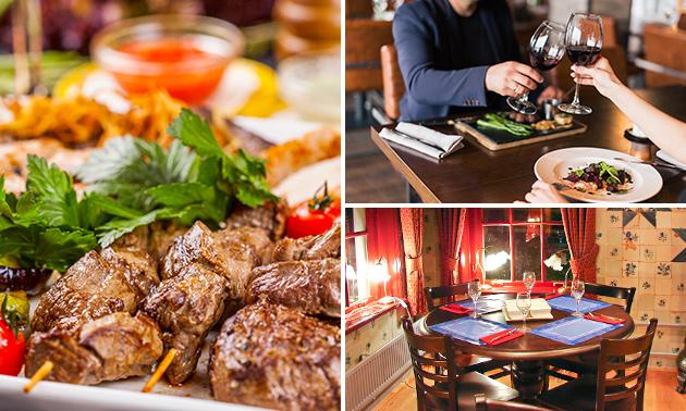 3-gangendiner bij Restaurant Steakhouse De IJsberg