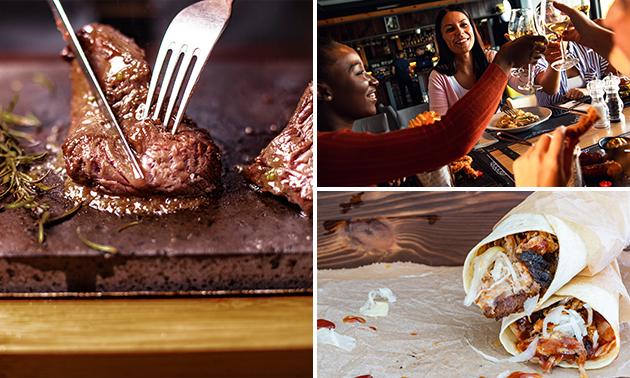 Afhalen: gourmet- en tapaspakket bij Steakhouse De IJsberg