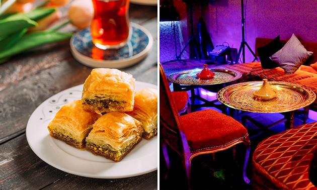 Arabische high tea bij Restaurant Topkapi
