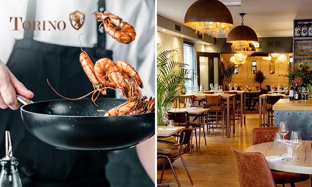 Afhalen: Italiaans 4-gangendiner van Restaurant Torino