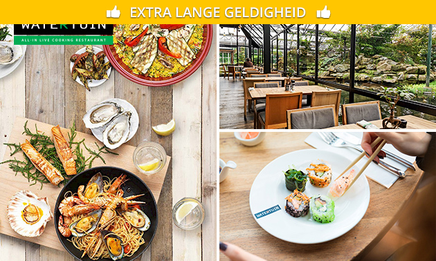 All-You-Can-Eat & Drink (3 uur) bij Watertuin