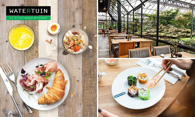 All-You-Can-Eat & Drink bij Watertuin