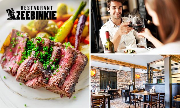 Afhalen: compleet diner bij Restaurant Zeebinkie