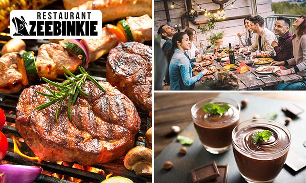 Afhalen: BBQ-pakket bij Restaurant Zeebinkie