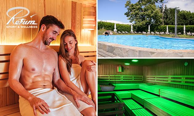 Hele dag sauna bij Return Sport & Wellness