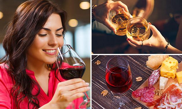 Wijn-, bier- of whiskyproeverij in hartje Weert