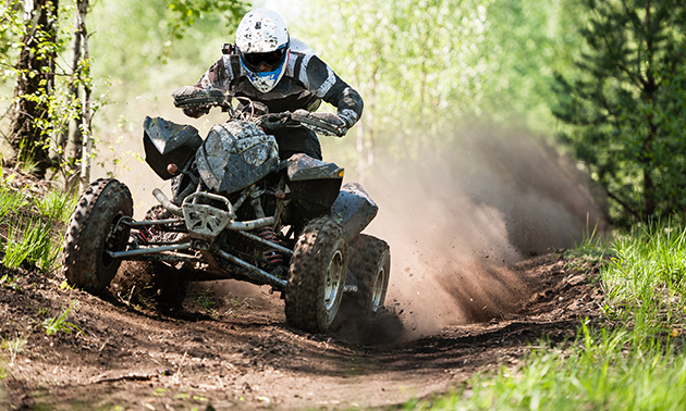 Quad-tour (2 uur) met instructeur