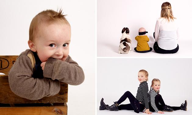 Fotoshoot (1 tot 8 personen) + 20 digitale foto's