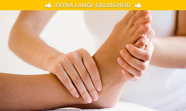 Voetreflexmassage(s) (60 minuten)
