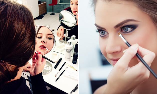 Make-upworkshop (2 uur) + koffie/thee en lekkernij