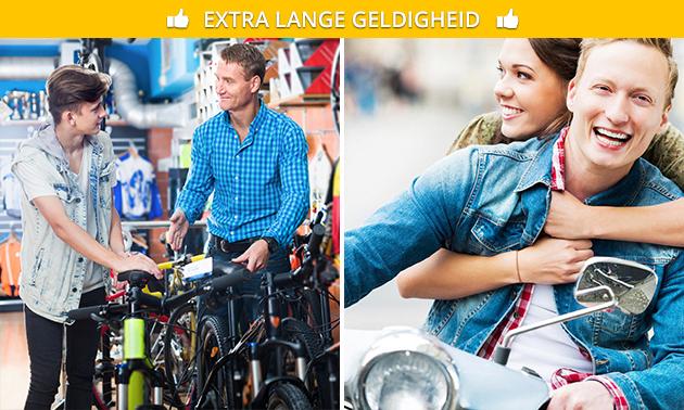 Onderhoudsbeurt (elektrische) fiets of scooter