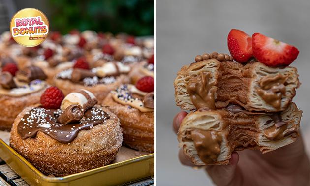 Afhalen: 6 donuts naar keuze
