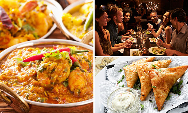 All-You-Can-Eat Indiaas buffet (2 uur) bij Royal Nepal