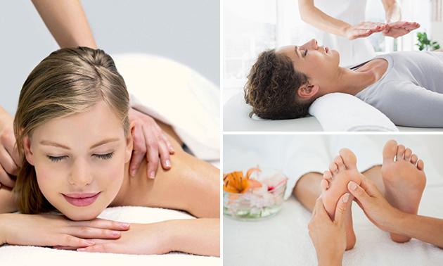 Massage naar keuze of reikibehandeling (30 of 60 min)