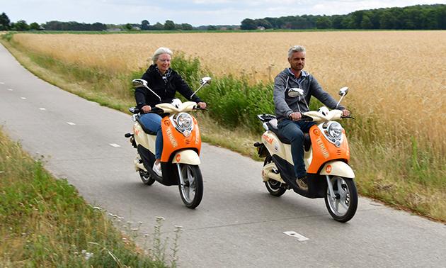 Huur een elektrische scooter (hele dag)