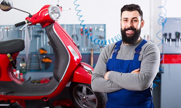 Grote onderhoudsbeurt voor je scooter