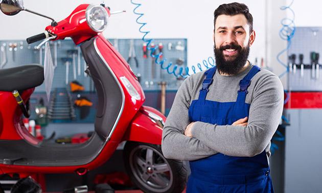 Onderhoudsbeurt voor je scooter