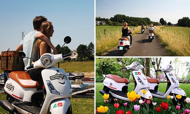 Scooter of elektrische fiets huren
