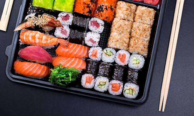 Afhalen: sushibox (22, 40 of 60 stuks) bij Selfie Sushi