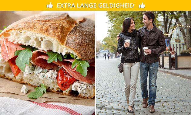 Take-away Italiaans lunchpakket in hartje Maastricht