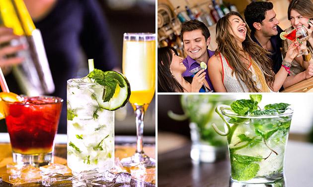 2 cocktails naar keuze in hartje Zwolle