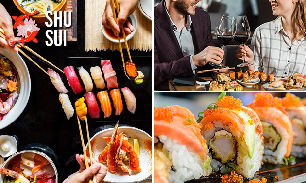 All-You-Can-Eat sushi (2,5 uur) bij ShuSui