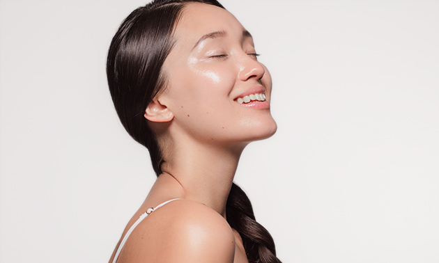 Huidverbeterende gezichtsbehandeling (60 of 90 min)