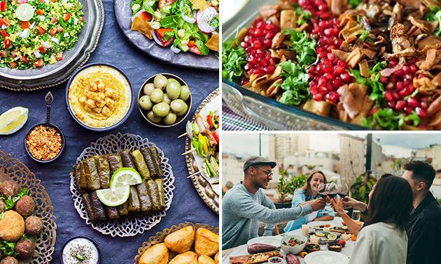 Syrische keuzelunch (2 gerechten) + drankje