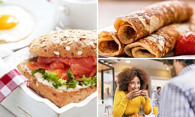 Gratis thuisbezorgd of afhalen: 2 pannenkoeken of lunchpakket