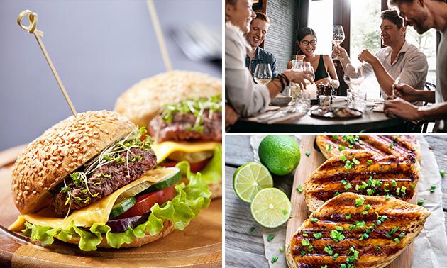 3-gangen keuzediner bij Snack & Steak HUUS