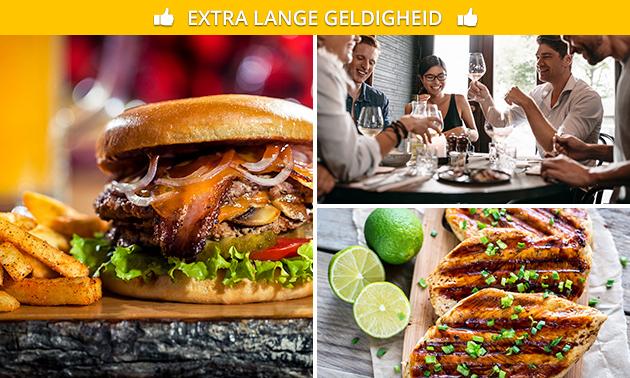 Afhalen: 2- of 3-gangen keuzediner bij Snack & Steak HUUS