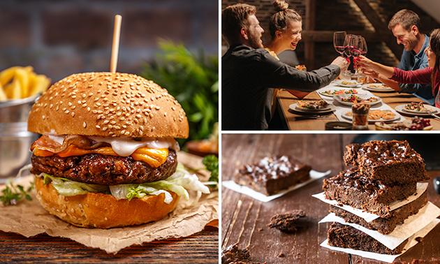 Afhalen: 3-gangen keuzediner bij Snack & Steak HUUS