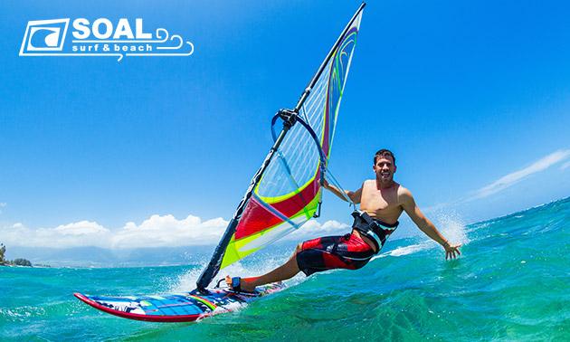 Cursus windsurfen (3 uur)