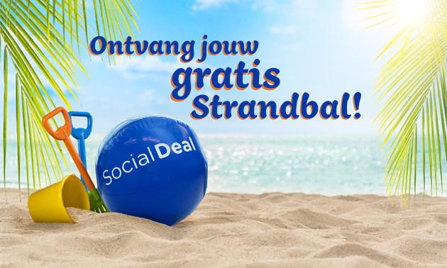 Gratis Social Deal strandbal