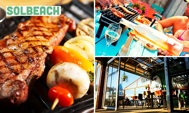 Barbecuediner bij Solbeach